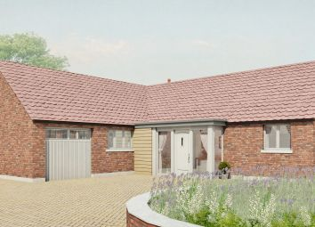 Thumbnail 3 bed detached bungalow for sale in Plot 1, Old Hall Gardens, Screveton