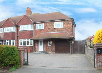 Thumbnail 4 bed semi-detached house for sale in High Street, Angmering, Littlehampton