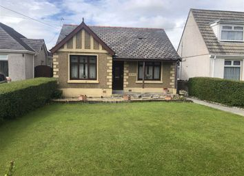 Thumbnail 3 bed detached bungalow for sale in Bethesda Road, Tumble, Llanelli