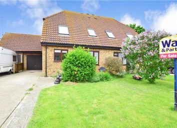 Thumbnail 4 bed semi-detached house for sale in Wraightsfield Avenue, Dymchurch, Romney Marsh, Kent