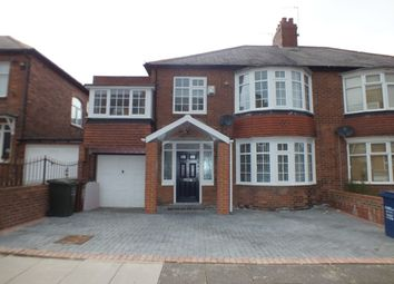 Thumbnail 4 bed semi-detached house for sale in Grange Road, Fenham, Newcastle Upon Tyne