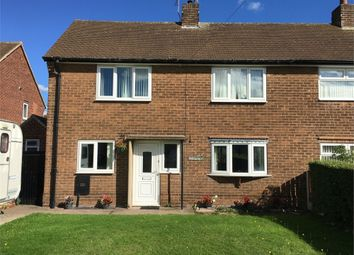 Thumbnail 2 bed semi-detached house to rent in Dickens Road, Worksop, Nottinghamshire