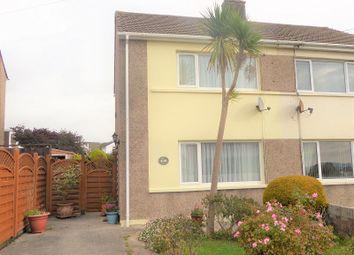 Thumbnail 2 bed semi-detached house for sale in Llangewydd Road, Bridgend