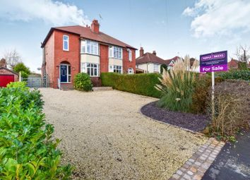 Thumbnail 4 bed semi-detached house for sale in Crewe Road, Shavington