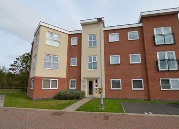 Thumbnail 2 bed flat for sale in Langley Way, Hawksyard, Rugeley