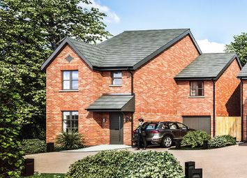 Plot 2, Burntwood Views, Eccleshall Road, Loggerheads TF9. 4 bed detached house for sale