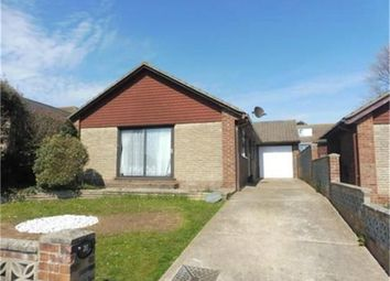 Thumbnail 3 bed detached bungalow for sale in Anzac Close, Peacehaven, East Sussex