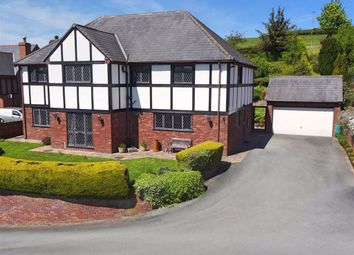 Thumbnail 4 bedroom detached house for sale in Tegfryn, Milford Common, Milford Road, Newtown, Powys