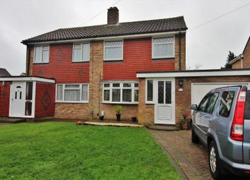 Thumbnail 3 bed semi-detached house for sale in Hatherley Crescent, Fareham