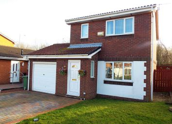 Thumbnail 3 bedroom detached house for sale in Stansted Close, Sunderland
