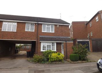 Thumbnail 2 bed end terrace house for sale in Barrow Path, Leighton Buzzard, Bedford, Bedfordshire