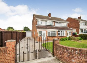 Thumbnail 3 bed semi-detached house for sale in Harthope Avenue, Wear View, Sunderland
