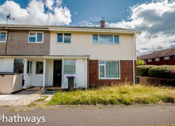 Thumbnail 3 bed semi-detached house for sale in Cilgerran Court, Llanyravon, Cwmbran