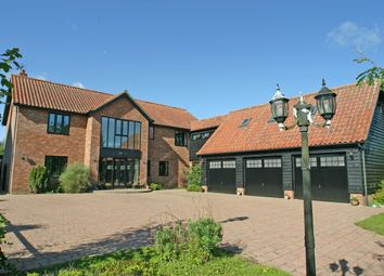 Thumbnail 5 bed detached house for sale in Kenton, Stowmarket, Suffolk