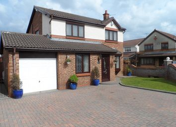 Thumbnail 4 bed detached house for sale in Campion Way, Ashington