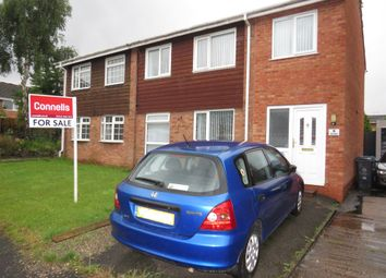 Thumbnail 4 bed semi-detached house for sale in Broc Close, Penkridge, Stafford