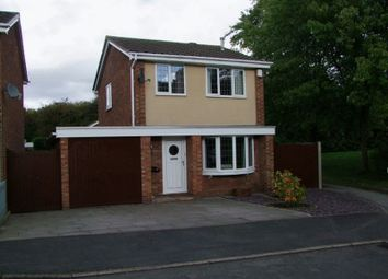Thumbnail 3 bed detached house to rent in Dove Close, Woodville, Swadlincote