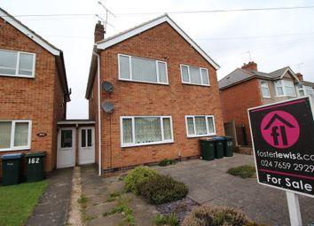 Thumbnail 2 bedroom maisonette to rent in Roland Avenue, Holbrooks, Coventry