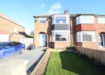 Thumbnail 3 bed semi-detached house for sale in Canberra Road, Marton-In-Cleveland, Middlesbrough