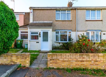 Thumbnail 2 bed end terrace house for sale in Paslowes, Vange, Basildon