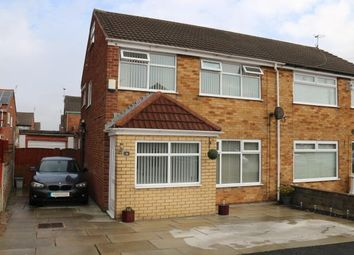 Thumbnail 3 bed semi-detached house for sale in Drayton Crescent, St. Helens, Merseyside