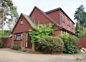 Thumbnail 4 bed detached house for sale in Andrews Close, Fleet