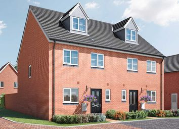 "Thumbnail 4 bed semi-detached house for sale in ""The Aslin"" at Arlesey Road, Stotfold, Hitchin"