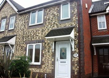 Thumbnail 3 bed terraced house to rent in Gilbert Road, Chafford Hundred, Grays