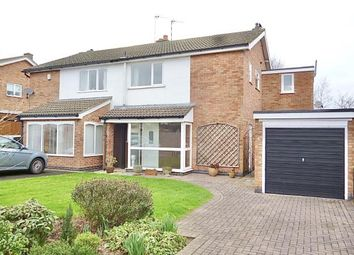 Thumbnail 3 bed semi-detached house for sale in Farm Close, Birstall, Leicester, Leicestershire