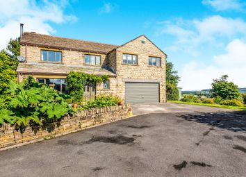 Thumbnail 5 bed detached house for sale in Spring Gardens, Upperthong, Holmfirth