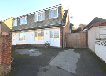 Thumbnail 3 bed semi-detached house for sale in Beaconsfield Road, Parkstone, Poole