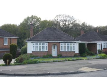Thumbnail 2 bedroom detached bungalow for sale in Woodlands Drive, Groby, Leicester