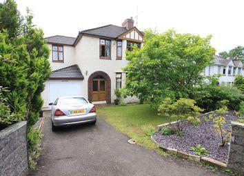 Thumbnail 4 bed semi-detached house for sale in Newport Road, Llantarnam, Cwmbran, Torfaen
