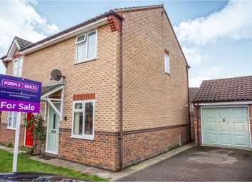 Thumbnail 2 bed semi-detached house for sale in Redfern Close, Dereham