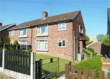 Thumbnail 2 bed flat for sale in New Road, Barlborough, Chesterfield, Derbyshire