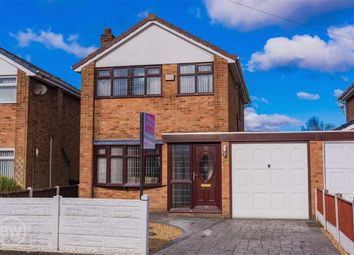 Thumbnail 3 bed detached house for sale in Lawson Avenue, Leigh, Lancashire