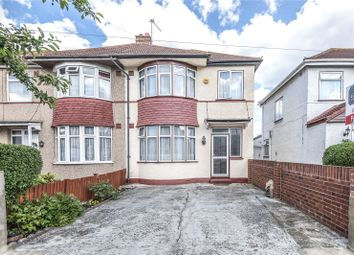 Thumbnail 3 bedroom end terrace house for sale in Rutland Road, Southall, Middlesex