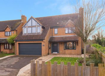 Thumbnail 4 bed detached house for sale in Little Meadow, Loughton, Milton Keynes