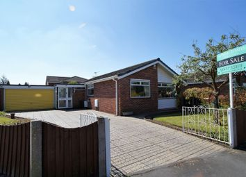 Thumbnail 3 bed detached bungalow for sale in Balmoral Drive, Holmes Chapel, Chehsire