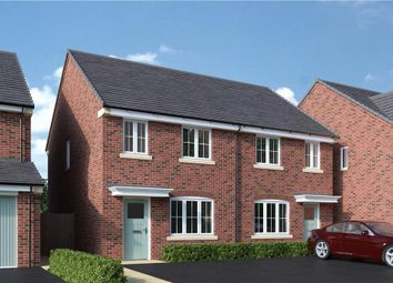 """Thumbnail 3 bed semi-detached house for sale in """"Stretton"""" at Back Lane, Somerford"""