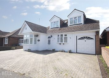 Thumbnail 4 bed detached bungalow for sale in Grasmere Road, Luton, Bedfordshire