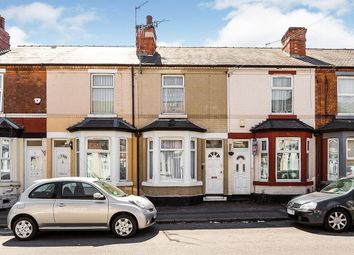 Thumbnail 2 bed terraced house for sale in Glentworth Road, Nottingham