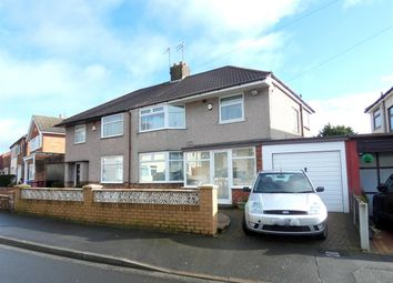 Thumbnail 3 bed semi-detached house for sale in Charlwood Avenue, Huyton, Liverpool