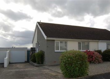Thumbnail 2 bed semi-detached bungalow to rent in Trelawney Avenue, Bude, Cornwall