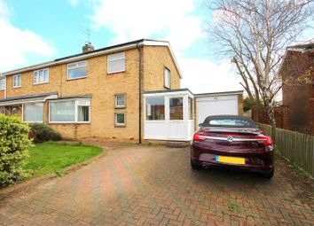 Thumbnail 3 bed semi-detached house for sale in Raby Road, Newton Hall, Durham
