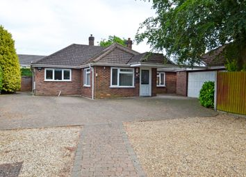Thumbnail 4 bed detached bungalow for sale in Taverham, Norwich, Norfolk