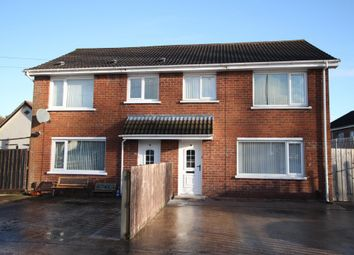 Thumbnail 3 bed semi-detached house to rent in Blacks Road, Dunmurry, Belfast