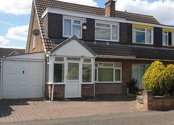 Thumbnail 3 bed terraced house to rent in Nagle Grove, Leicester