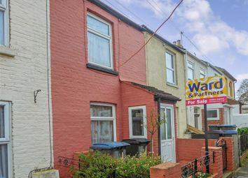 Thumbnail 2 bed terraced house for sale in Primrose Road, Dover, Kent