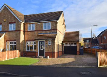 Thumbnail 3 bed semi-detached house for sale in Rymill Drive, Oakwood, Derby
